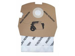BISSELL COMMERCIAL C3000-PK12 Canister Vacuum Bags,Paper,PK12