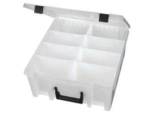 "FLAMBEAU T9200 1 to 8 Adjustable Compartment Box, 15-7/32""L x 14-5/32""W"