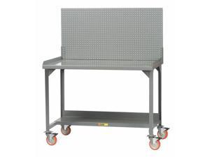 """LITTLE GIANT WM-2872-E-PB Workbench,Steel,72"""" W,28-3/4"""" D"""