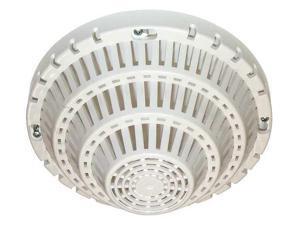 SAFETY TECHNOLOGY INTERNATIONAL STI-8100-W Smoke Detector Damage Stp Cover,White