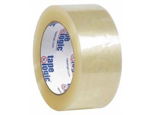 Tape Logic T9021226PK 2 in. x 110 yards Clear No.122 Quiet Carton Sealing Tape - Pack of 6
