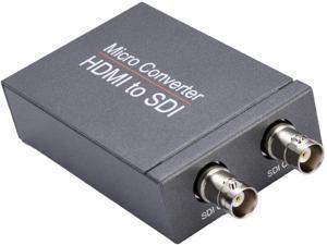 HDMI to SDI Converter One HDMI Input Two SDI Outputs 720p and 1080p Support SDI/HD-SDI/3G-SDI