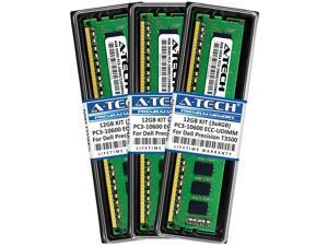 Memory ECC Unbuffered For Dell Precision T3500 DDR3-1333MHz NEW 12GB 6x2GB