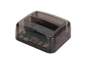 Black 116x75mm Almencla 2.5inch to USB 3.0 SATA SSD HDD Hard Drive Dock Station Enclosure Case Cover