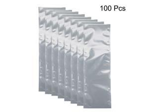 uxcell Antistatic Shield Shielding Bag Flat Open Top Anti Static Bag for Electronic Devices 25 PCS 6x6 inch 150x150mm