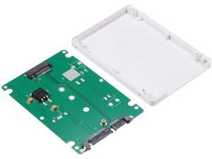 No Need for Driver. Supports Plug and Play Wendry High Performance 22pin M.2 NGFF SSD to 2.5in SATA Adapter Converter
