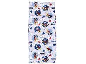 "Disney Mickey Mouse Preschool Nap Pad Sheet, Blue, 19"""" x 44"""""