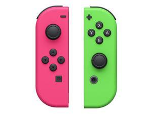 Nintendo - Joy-Con (L/R) Wireless Controllers for Nintendo Switch - Neon Pink/Neon Green