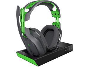 Astro Gaming - A50 Wireless Dolby 7.1 Surround Sound Gaming Headset for Xbox One and Windows - Black and Green
