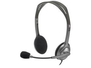 Logitech H111 Stereo Headset (Black)