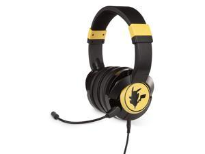 PowerA Pokémon Wired Gaming Headset - Pikachu Silhouette for Xbox One, PS4, Switch, PC