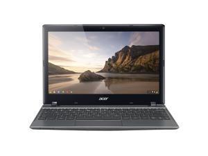 """Acer C720-2844 (NX.SHEAA.004) Chromebook Intel Celeron 2955U (1.40 GHz) 4 GB Memory 16 GB SSD 11.6"""" Chrome OS (Scratch and Dent)"""