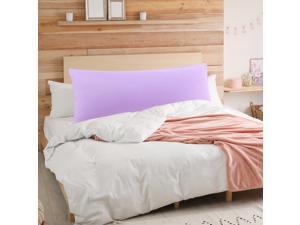 "Soft Microfiber Body Pillow Cover W Zipper Closure Long Cases For Pillows 20/""X48"