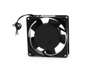 90mm 9cm Metal Frame Plastic Blades Axial Fan AC 220-240V 0.07A 50/60Hz