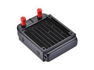 Water Cooling Radiator for PC CPU 132mm x 100mm x 33mm with 8 Aluminum Tubes