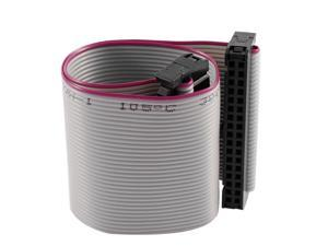 FC34P 20cm IDC 34Pin Hard Drive Extension Wire Flat Ribbon Cable for Motherboard