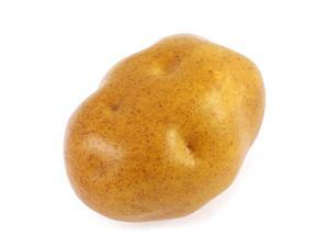 Unique Bargains Artificial Brown Potato Decorative Fake Vegetable