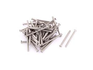 Unique Bargains M3 x 40mm Phillips Head Stainless Steel Countersunk Bolts Screws Fasteners 50pcs
