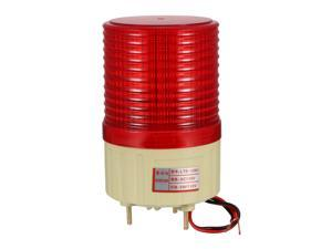 Unique Bargains AC 110V Industrial Alarm System Rotating Warning Light Lamp Red