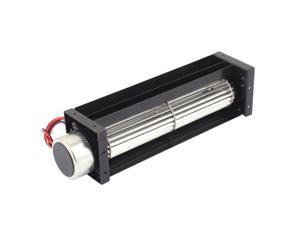DC 12V 0.18A Cross Flow Cooling Fan Heat Exchanger Amplifier Cool Turbo 30x150mm