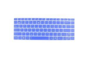 Unique Bargains Notebook Keyboard Skin Cover Film Blue Clear for Asus U80 UL80 U81 N82 UL30