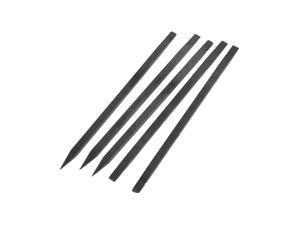 5 Pcs Plastic Stick Spudger Opening Tool Black for Smartphone Repairing