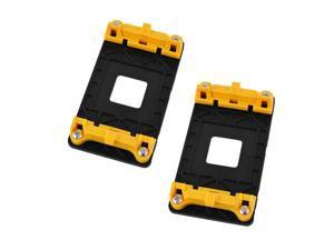 2pcs Plastic AMD AM2 AM2+ AM3 AM3+ FM1 FM2 CPU Fan Bracket Stand Base Yellow