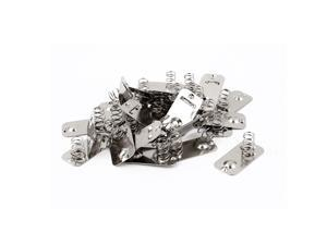 Metal AA Battery Connection Spring Lamination Contact Plate 30 Pcs