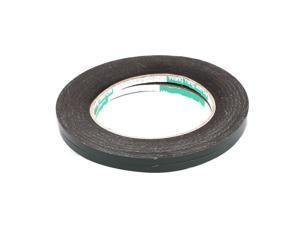 2pcs 5mm x 0.5mm Self Adhesive Shock Resistant Anti-noise Foam Tape 10M Length