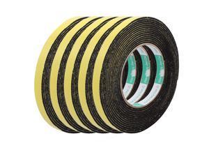 5Pcs 15mm Width 2mm Thickness EVA Single Side Sponge Foam Tape 5 Meters Length