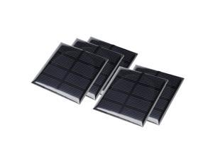 5Pcs 2V 160mA Poly Mini Solar Cell Panel Module DIY for Phone Toys Charger