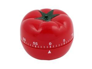 2.2x2.2x2.8-Inch 60 Minutes Mechanical Kitchen Tomato Timer Durable Plastic