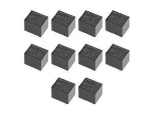 10 Pcs JQC-3FF-S-H DC 9V Coil SPST 4 Pin PCB Electromagnetic Power Relay