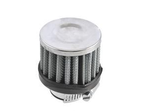 """18mm-25mm Hose Clamp Conical Mesh Car Truck Air Filter Silver Tone 25mm 1"""""""
