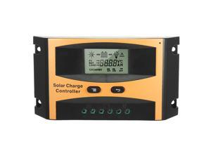 Intelligent 10A Solar Panel Charge Controller 12V-24V Battery Regulator PV2410