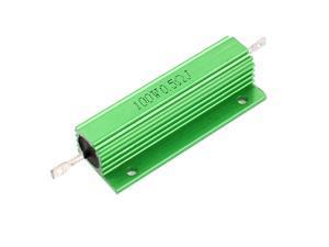 Aluminum Case 100W Watt 0.5 Ohm 5% Power Wirewound Resistor