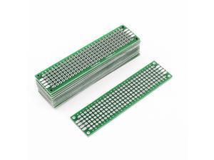 12Pcs 2cm x 8cm Electronic DIY Prototype Paper Double Side PCB Universal Board