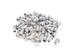 Unique Bargains 50pcs 3mm LED  Holder Light Socket for Light-emitting Diode Lighting
