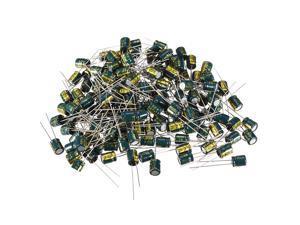 Aluminum Radial Electrolytic Capacitor Low ESR Green 47UF 50V 6x7mm 150pcs
