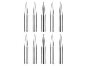 10PCS Soldering Solder Iron Tips 900M Series 936 Soldering Station Tool 4.4mm