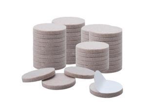 "Felt Furniture Pad Round 1 1/2"" Anti-scratch Slip Resistant Desk Protector 50pcs"