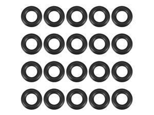 O-Rings Nitrile Rubber Gasket, 11mm Inner Diameter, 18mm OD, 3.5mm Width, 20pcs