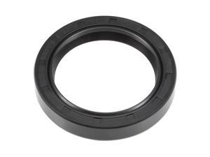 Oil Seal, TC 45mm x 60mm x 10mm, Nitrile Rubber Cover Double Lip