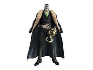 megahouse variable action heroes: onepiece: sir crocodile action figure