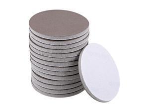 3-Inch 800-Grits Hook and Loop Sanding Disc, Sponge Sanding Pad Wet Dry Aluminum Oxide Sandpaper for Polishing & Grinding 15pcs