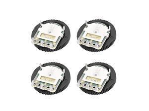 1K,10K,20K,50KOhm each 10pcs Dial  Wheel Potentiometer for Audio Volume Switch