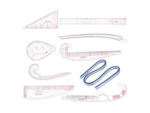 Details about  /Curve Ruler Multi-function Comic Template Tool for Drafting Drawing 3 in 1