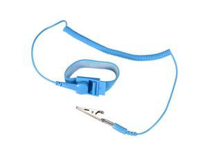 Anti Static Wrist Straps, ESD Components, Stainless Steel Magnetic Tray Grounding Wire Alligator Clip