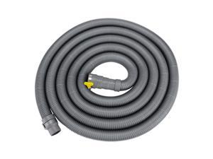 16.4 Feet Washing Machine Drain Extension Hose EVA with Clamp Portable Wash Machine Dishwasher Drain Hose Replacement