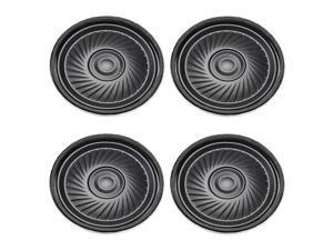 4Pcs Round Internal Magnet Speaker Loudspeaker 8 Ohm 2W 40mm Dia Metal Shell